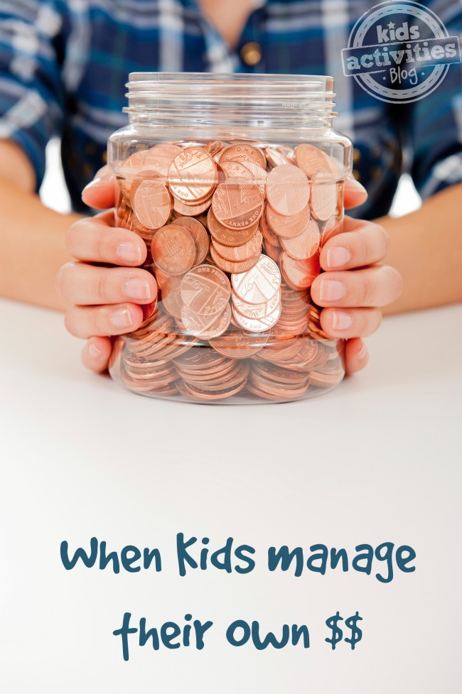 When Kids Manage Their Own Money - Kids Activities Blog