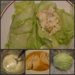 Lettuce Gyros with Tilapia and Yogurt Sauce