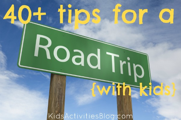 road trip with kids tips