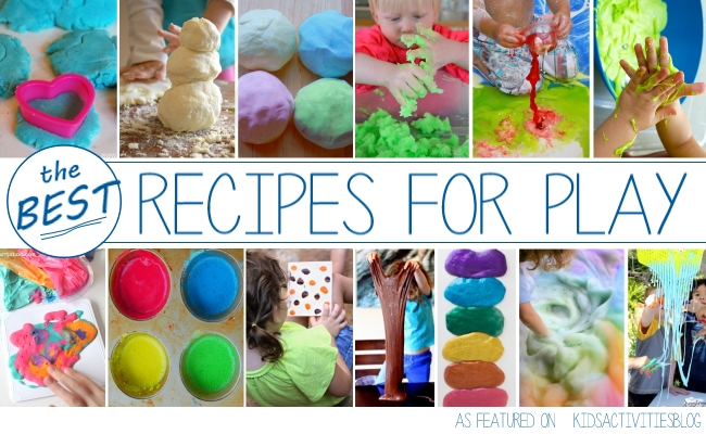 The Best Playdough recipes to play with!