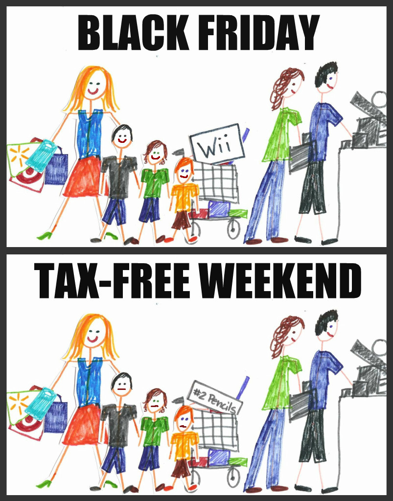 Black Friday vs. Tax Free Weekend in Texas