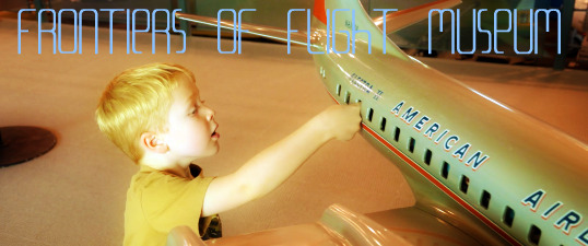 frontiers of flight FEAT titled