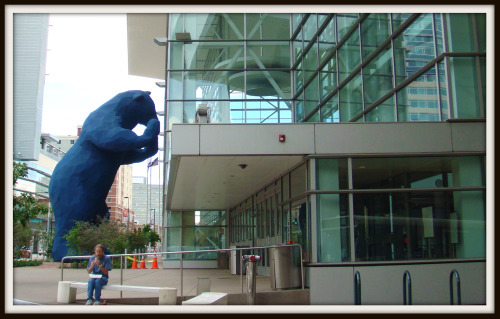 Big Blue Bear at Denver Convention Center