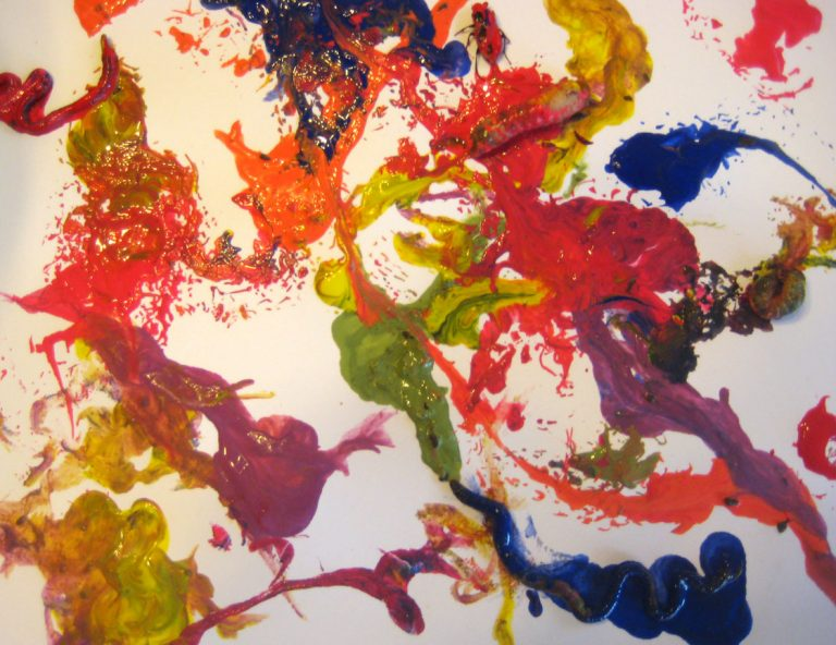 Painting with Bugs, literally!