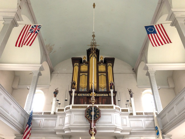 Old North Church in Boston - Kids Activities