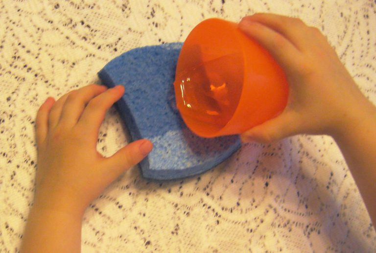 Playing with Sponges: 5 Ways