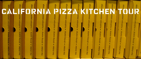 California Pizza Kitchen Tour