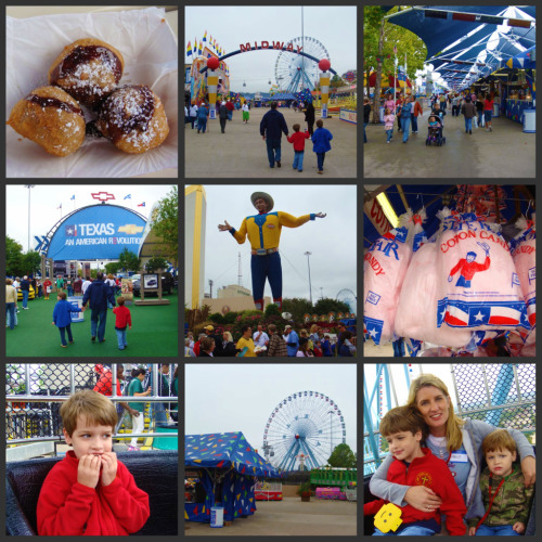 State Fair of Texas collage