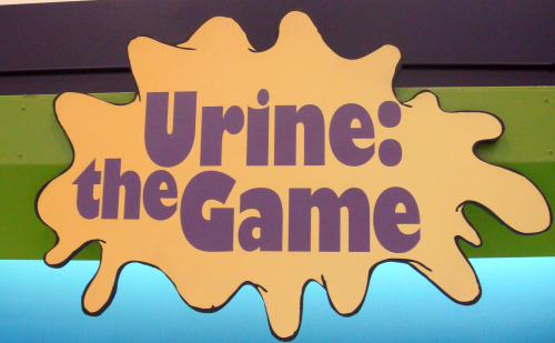 Urine the game at Sci-Tech Discovery Center near Dallas Texas