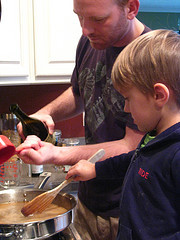 Learning through Cooking with Toddlers & Prechoolers