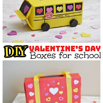 DIY valentines day box ideas for school