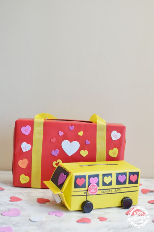 Homemade Valentine's Day Mail Boxes for School to Collect All Those Valentines