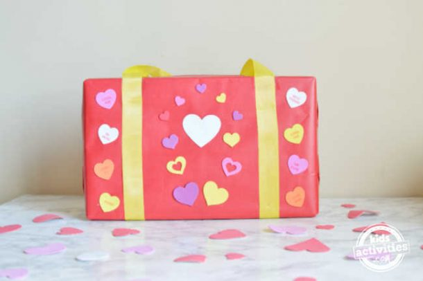 simple valentines day box ideas for school using cereal box