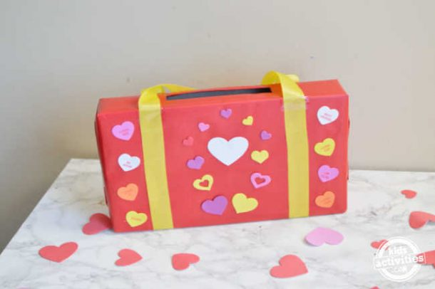 cool valentine boxes for school using things at home