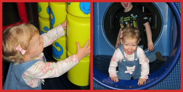 the tubes toddler area collage