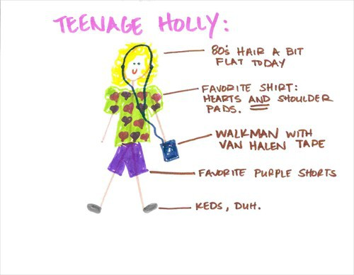 room for holly's teenage angst