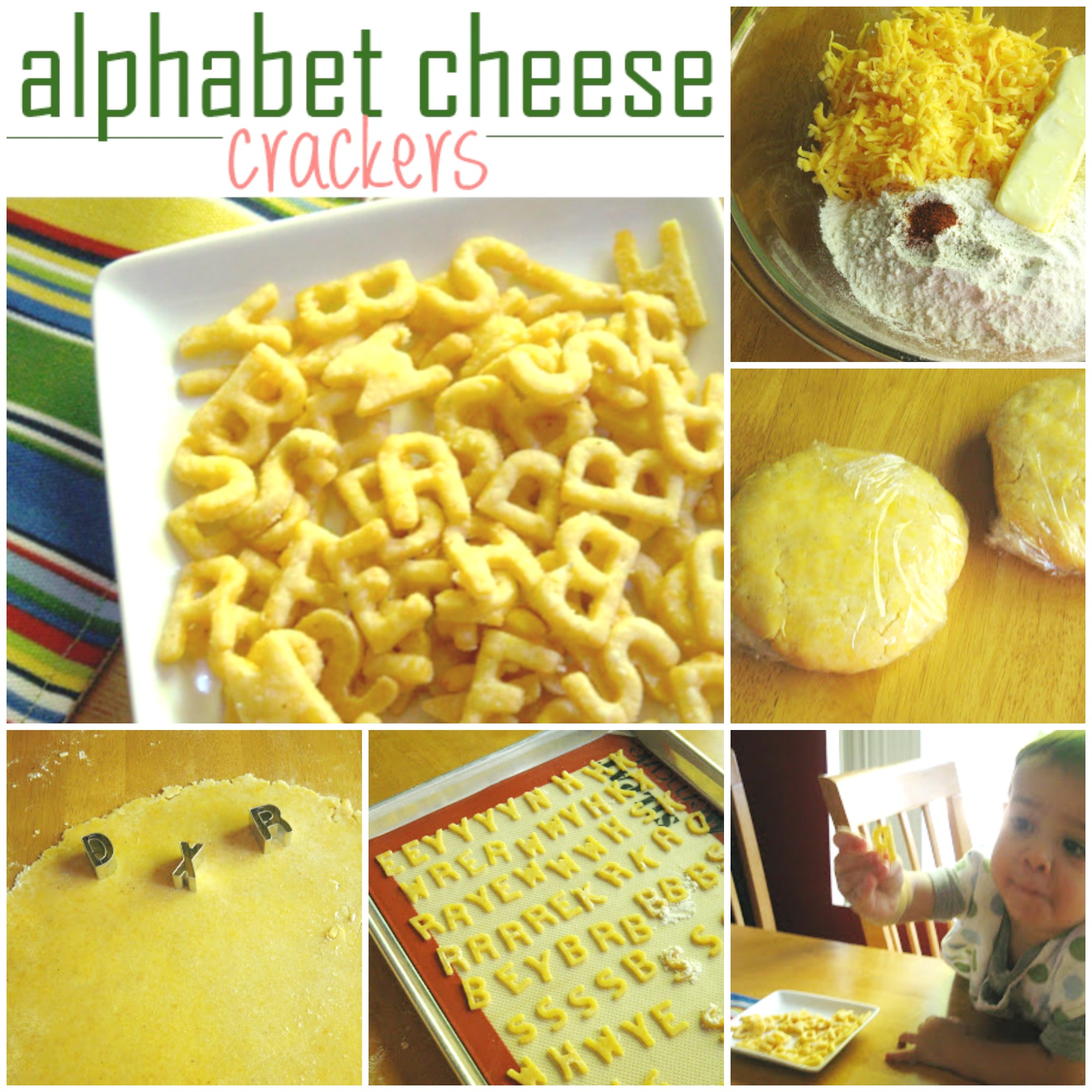alphabet cheese crackers