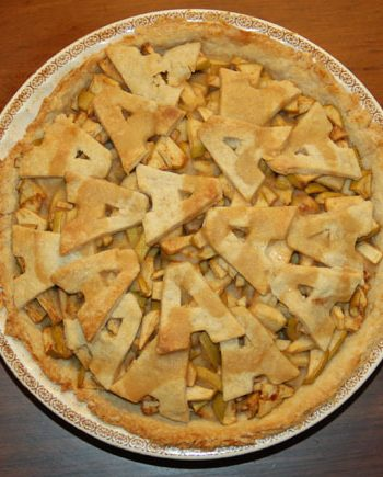 Alphabet apple pie