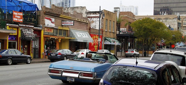 a slice of 6th street with pizza on the side