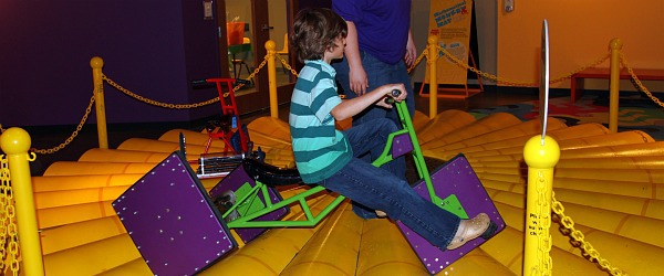 Square Wheel Tricycle at Sci-Tech Discovery Center Dallas