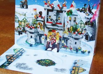 Lego advent calendar open