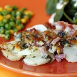 marie callenders scalloped potatoes and ham in creamy cheese sauce