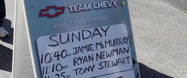 ryan newman appearance schedule at Team Chevy Texas Motor Speedway