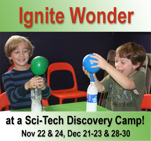 Sci-Tech Discovery Camps near Dallas, TX