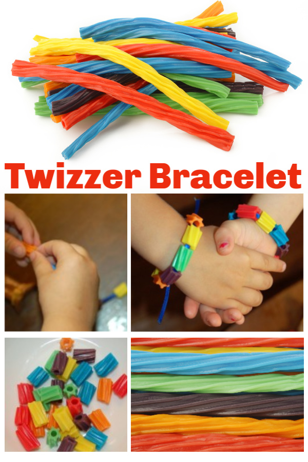 How to Make a Twizzler Candy Bracelet