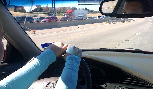 driving to belly dancing class