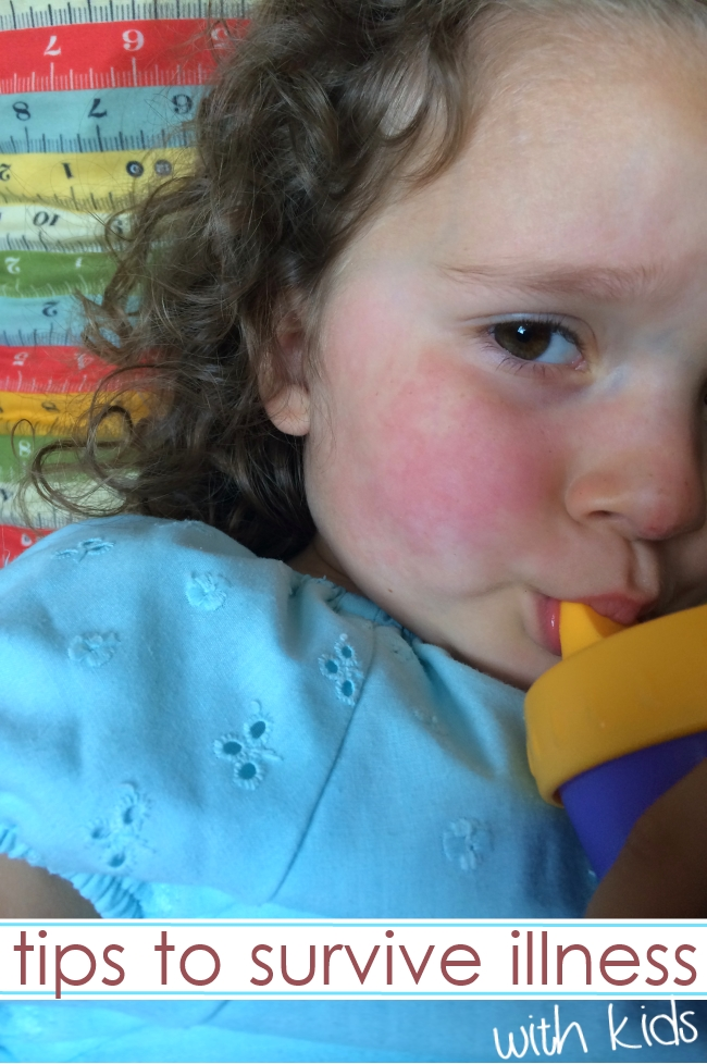 tips for surviving with sick kids
