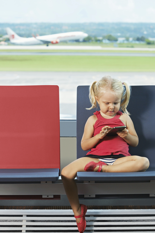 The Secret Tip for Flying With A Toddler