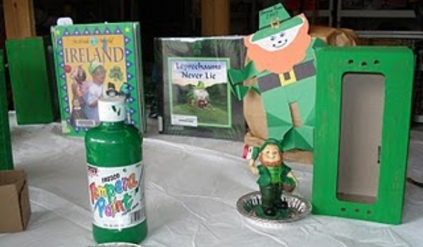 St. Patrick's Day books and crafts