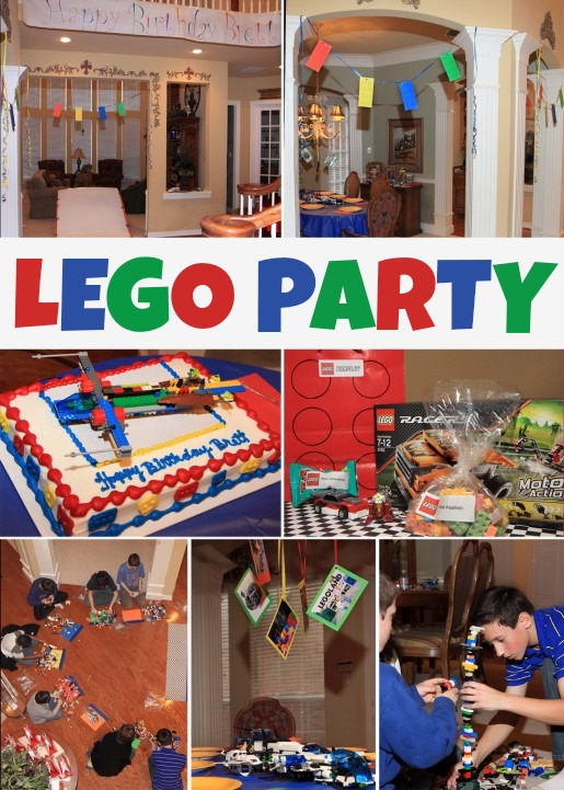 How to Host a LEGO Party