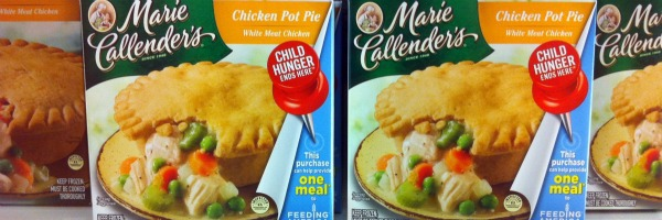 grocery store search for Child Hunger Ends Here pushpins on ConAgra foods