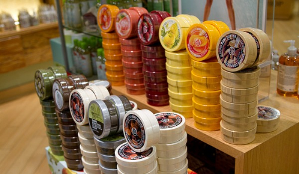 The Body Shop body butters 600x350