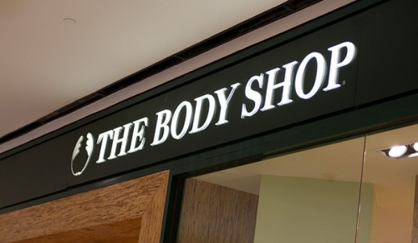 The Body Shop sign 600x350