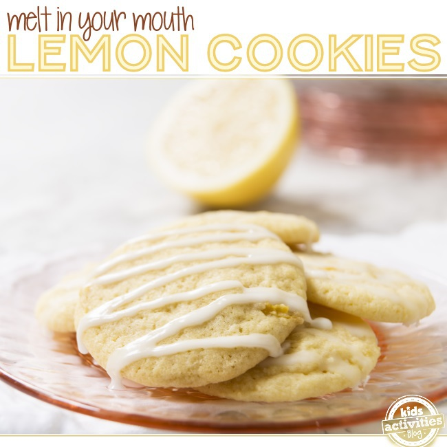 lemon cookies its a party in your mouth