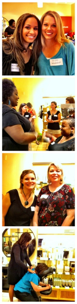 Aveda Dallas blogger party
