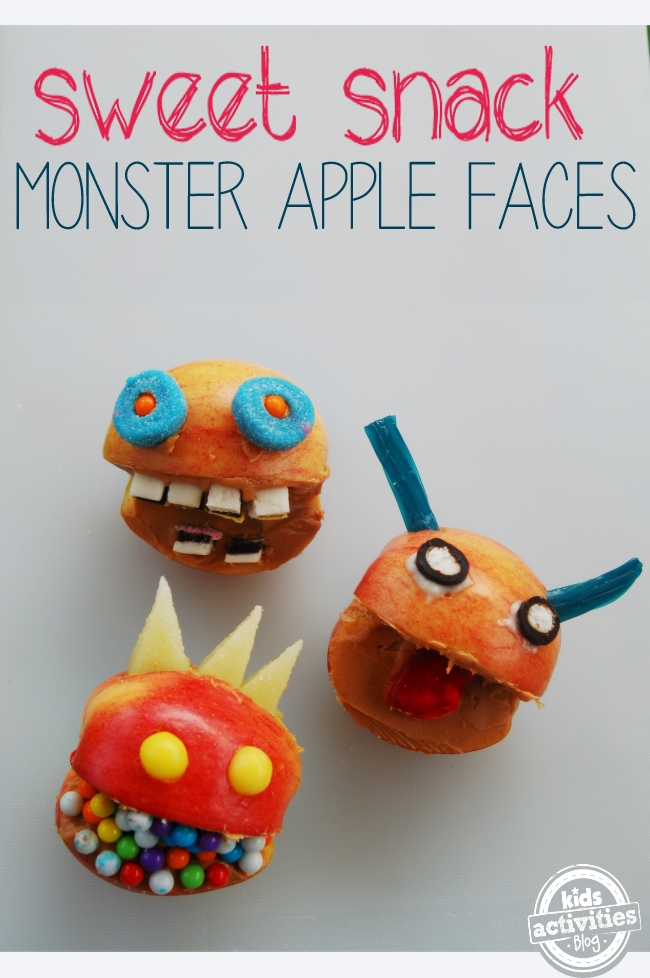 monster apple faces