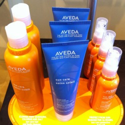 aveda summer hair care