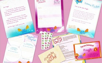 Kid Fairy package for girls