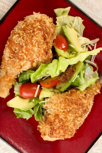 panko fried chicken