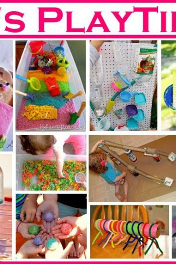 Play time activities for kids