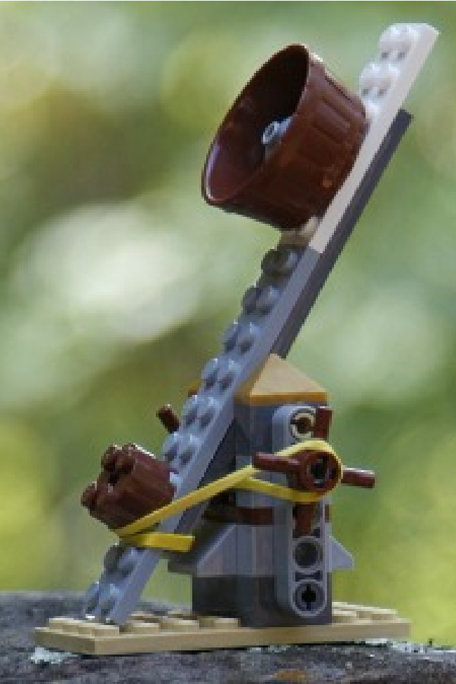 How to Make a Lego Catapult with Bricks You Already Have