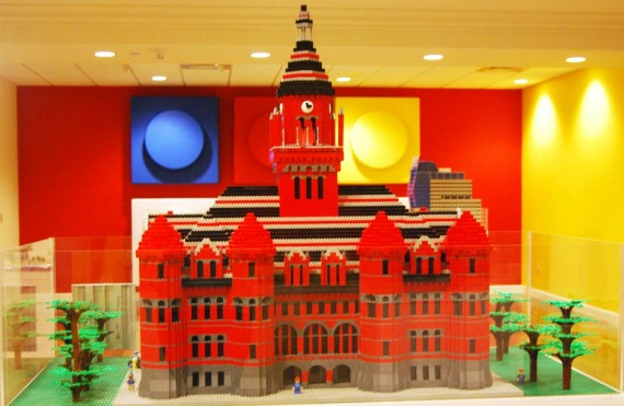 Old Red Museum in Legos