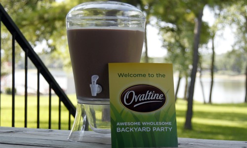 Ovaltine Awesome Wholesome Backyard Party