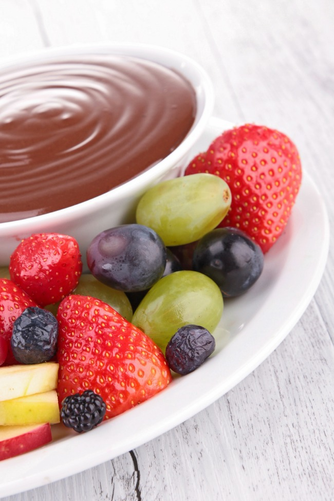ovaltine chocolate fruit dip