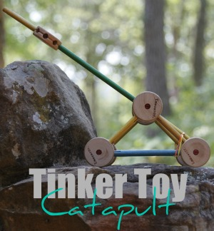 Tinker Toy Catapult