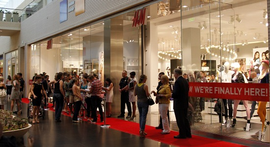 H&M Store Opens in Dallas